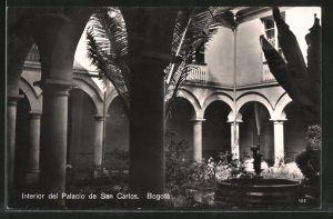 AK Bogota, Interior del Palacio de San Carlos