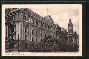 AK Melbourne, Town Hall, Rathaus