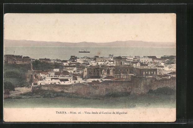 AK Tarifa, Vista desde el Camino de Algeciras