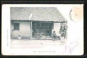 AK Vien-Tiane, Magasin laotien, Geschäft