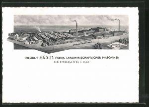 AK Bernburg, T. Hey GmbH Fabrik Landwirtschaftlicher Maschinen