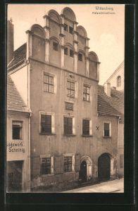 AK Wittenberg, Partie am Melanchtonhaus