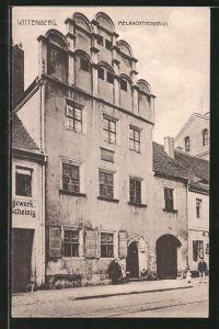 AK Wittenberg, Blick zum Melanchtonhaus
