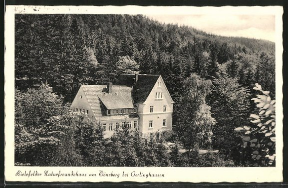 AK Oerlinghausen, Bielefelder Naturfreundehaus am Tönsberg