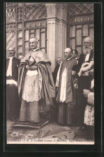 AK Lourdes, Le Cardinal Granito di Belmonte, Légat Pontificial