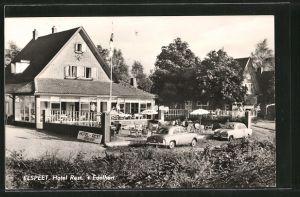 AK Elspeet, Hotel Restaurant 't Edelhert, Uddelerweg 59-61