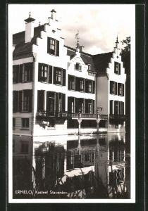 AK Ermelo, Kasteel Staverden, Schloss am Kanal