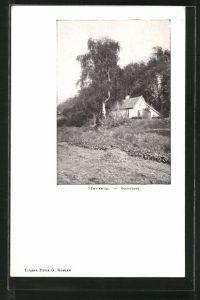 AK Oosterbeek, Zweiersdal, Dorfpartie mit Haus