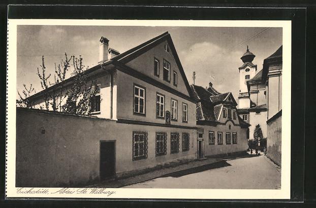 AK Eichstätt, Benediktinerinnen-Abtei St. Walburg, Haushaltungsschule bei St. Walburg