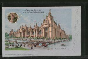 AK St. Louis, World's Fair 1904, Palace of Electricity