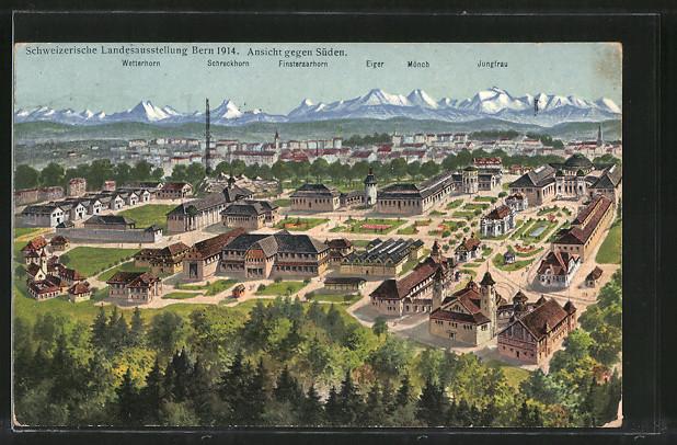 1914 59 Bern Landesausstellung Periodika & Kataloge