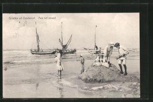 AK Zandvoort, aan het Strand