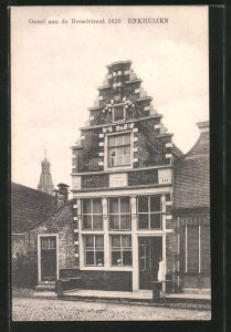 AK Enkhuizen, Gevel aan de Breedstraat 1623
