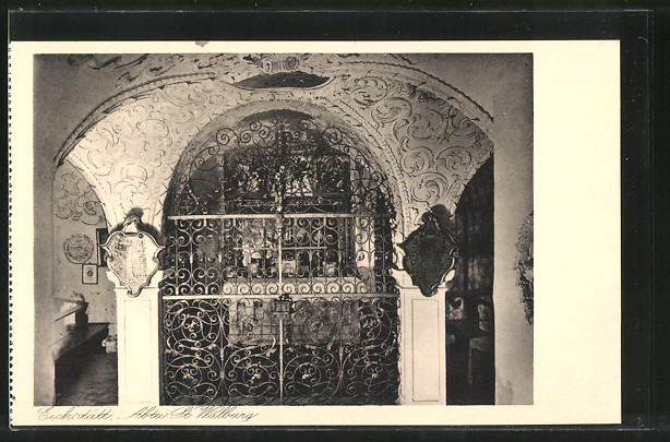 AK Eichstätt, Benediktiner-Abtei St. Walburg, Gruft