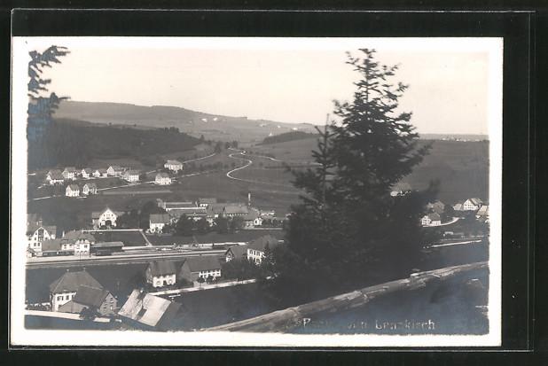 AK Lenzkirch, Ortspanorama vom Berg aus gesehen