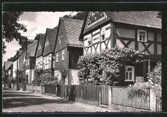 AK Postelwitz, Blick auf die Sieben-Brüder-Häuser 0