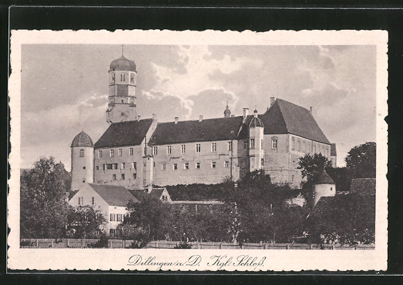 AK Dillingen, Partie am kgl. Schloss 0