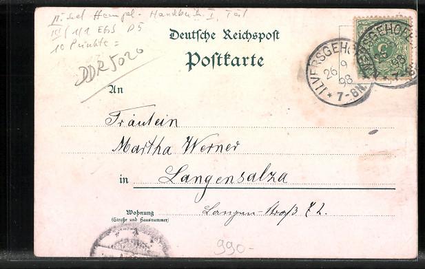 AK Erfurt, Steigerwald, Dom & Severuskirche 1