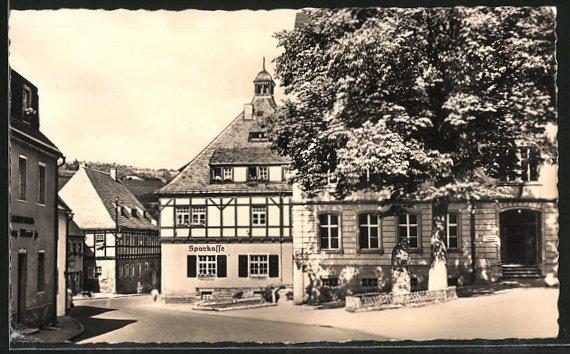 AK Geising, Rathaus, Saitenmacherhaus & Zentralschule 0