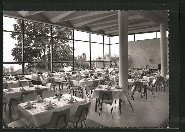 AK Berlin-Wannsee, Restaurant im Kurhaus Wannsee 0