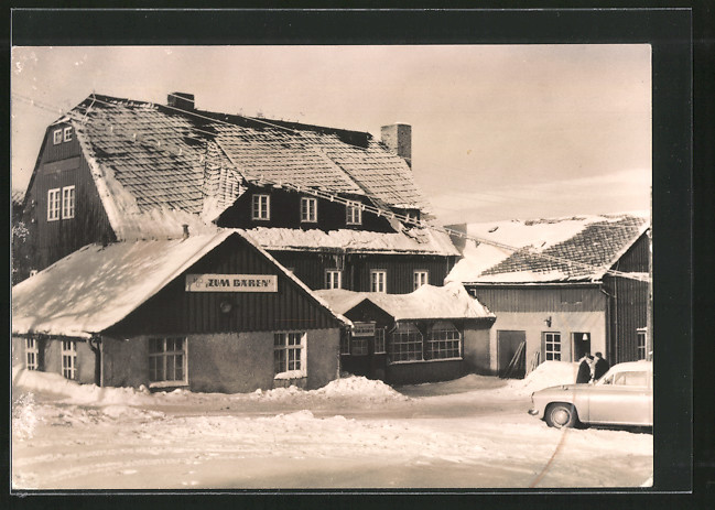 AK Oberbärenburg, HO-Gaststätte