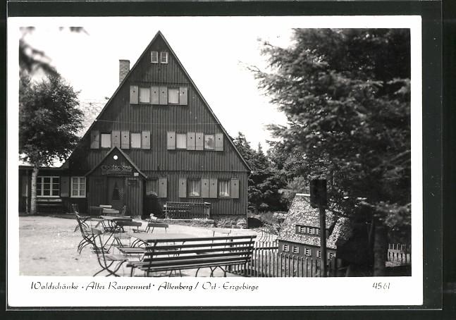 AK Altenberg, Gasthaus Altes Raupennest 0