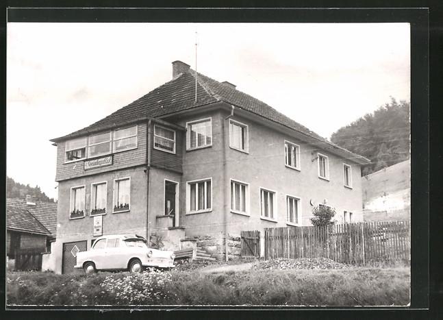 AK Nahetal-Waldau, Hotel-Pension zum Steinbergsblick 0