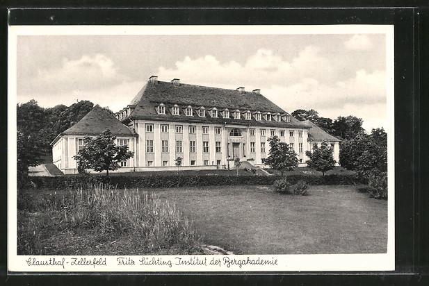 AK Clausthal-Zellerfeld, Fritz Süchting Institut der Bergakademie 0