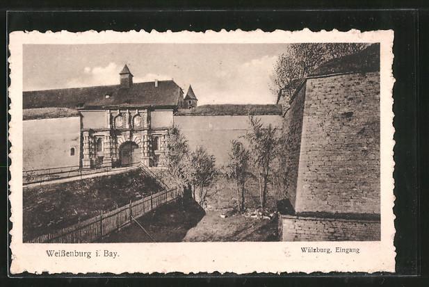 AK Weissenburg, Eingang zur Wülzburg 0