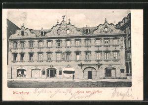 AK Würzburg, Haus zum Falken