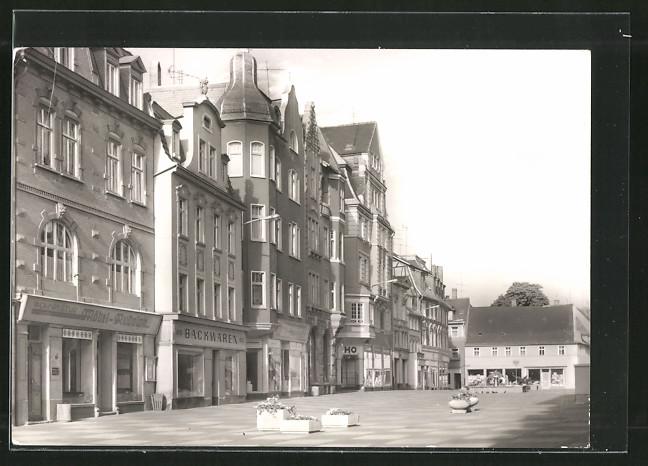 AK Zeitz, Ortspartie mit Leninstrasse 0