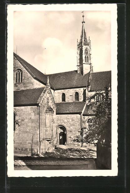 AK Heilsbronn, Münster mit Heidecker Kapelle 0