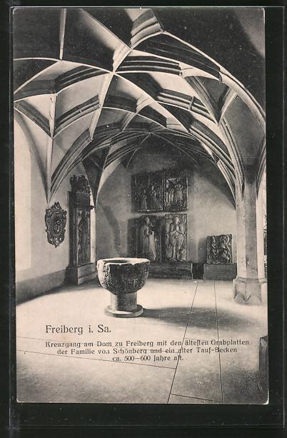 AK Freiberg, Kreuzgang am Dom 0