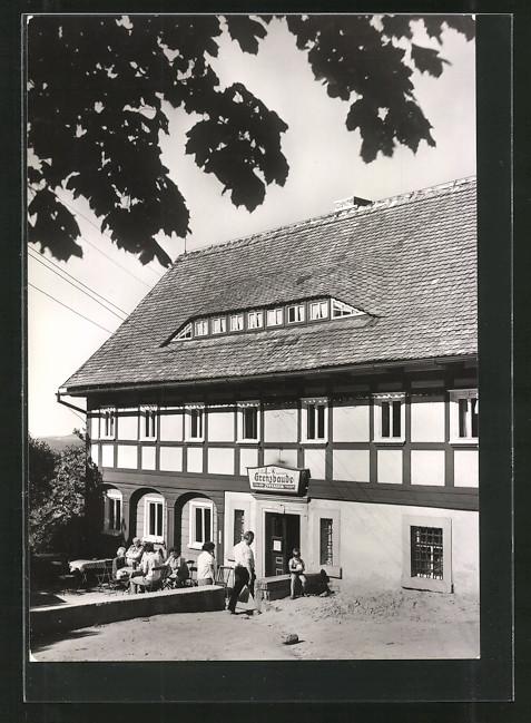 AK Waltersdorf, Gasthaus Grenzbaude 0
