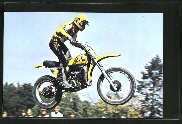 AK Motocross, Rennfahrer Roger Decoster auf Suzuki