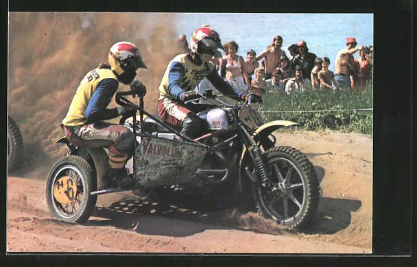 AK Motocross, Seitenwagenrennen, Cor van Biggelaar/Cor van der Bijl