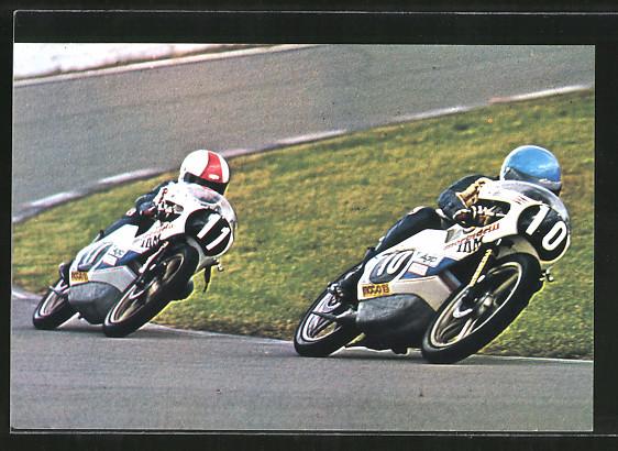 AK Road Racing, Motorradrennen, Paolo Pileri 10 vor Pier-Paolo Bianchi 11