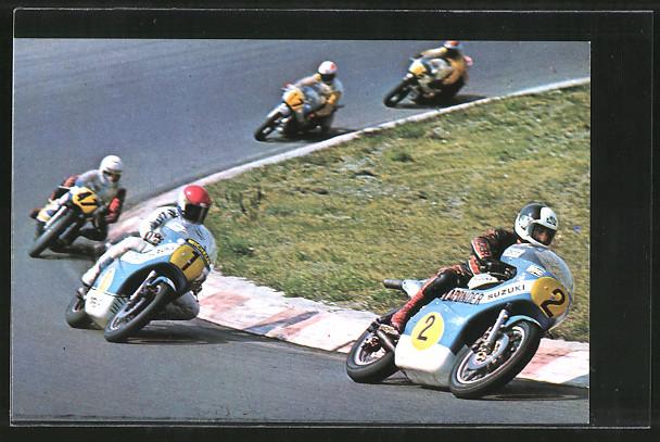 AK Road Racing, Motorradrennen, Boet van Dulmen 2 vor Wil Hartog 1 und Charlie Williams 47 0