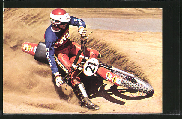 AK Motocross, Motorradrennfahrer Pierre Marsmakers, Startnummer 21