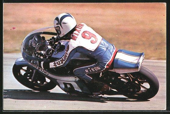 AK Road Racing, Motorradrennen, Gary Nicon auf Suzuki 0