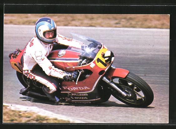 AK Road Racing, Motorradrennen, Stand Woods auf Honda