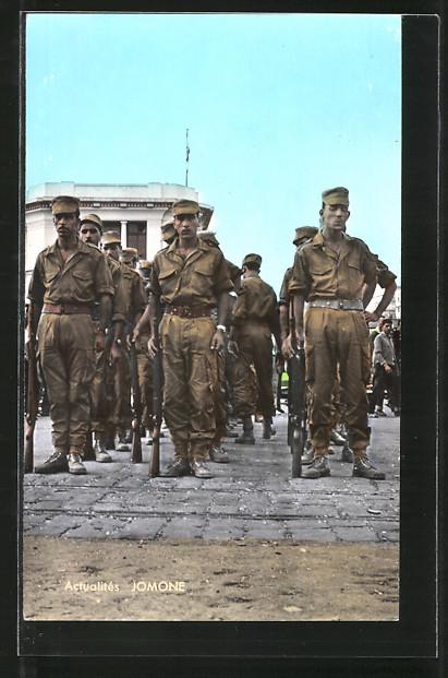 AK Algerie, Fantassins de l'Armée Nationale Populaire, Algerische Infanteristen 0