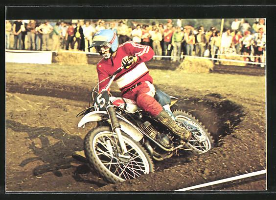 AK Motocross, Motorradrennen, Hakan Andersson auf Yamaha 0