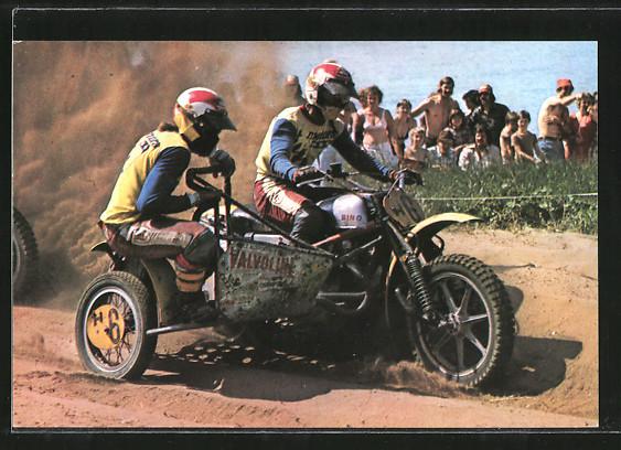 AK Motocross, Seitenwagenrennen, Cor den Biggelaar/Cor van der Bij