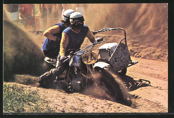 AK Motocross, Seitenwagenrennen, John Turner & Andy Greenhorn