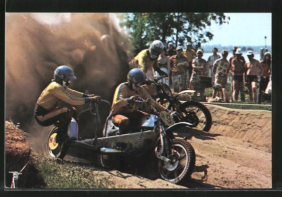 AK Motocross, Seitenwagenrennen, Han Vels und Jan Jansen