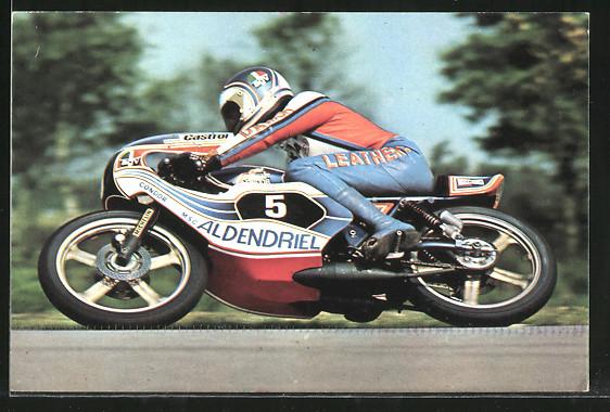 AK Road Racing, Motorradrennen, Henk van Kessel auf Honda