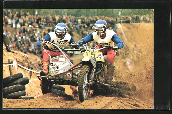 AK Motocross, Seitenwagenrennen, Ton van Heugten/Dick Steenbergen 0