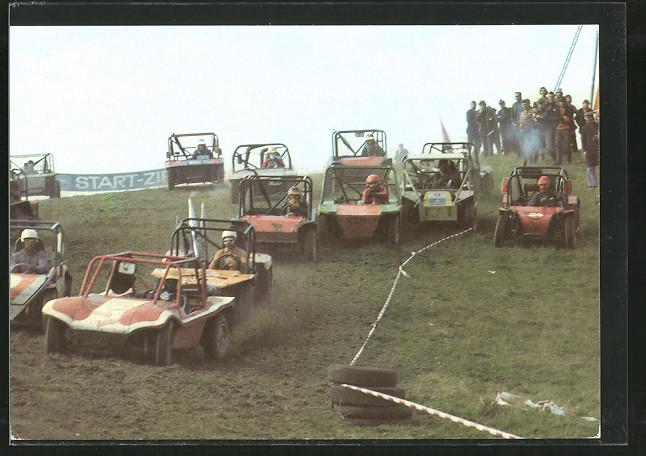 AK Geländerennen, Autorennen, Buggies