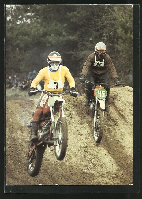 AK Motocrossrennen, Startnummer 3 und 45 0